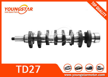 China Engine Parts NISSAN  TD27 Crankshaft 12201-67001 12200-65300 supplier