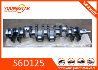 China Forged Steel vehicle crankshaft For KOMATSU S6D125  6151-31-1110 supplier
