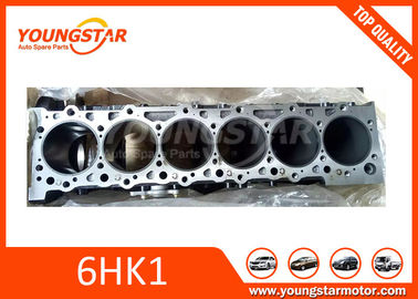 China ISUZU 6HK1 6HK1T Auto Cylinder Block For Truck Engine 8-97600119-0 supplier