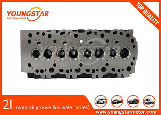 China Toyota 2L Cylinder Head Assy With Oil Groove And With Six Water Holes supplier