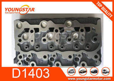 China 16414-03047 1641403047 Engine Cylinder Head For Kubota D1403 D-1403 supplier