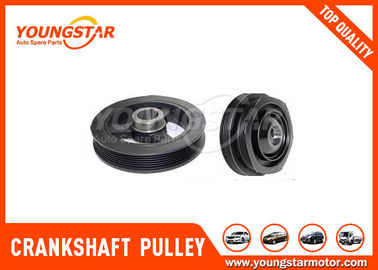 China Auto Spare Parts 4D56 Double Crankshaft Harmonic Damper Pulley 23129 - 42070 supplier