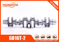 China CRANKSHAFT  FOR MISTUBISHI  6D16T-3  main bearing Dia  :  84 mm   ;    con rod bearing dia 70mm factory