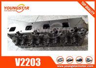 China Excavator Auto Cylinder Heads Assy For Kubota 01907-703040 V2203 factory