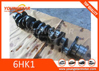 Isuzu 6hk1 Crankshaft 8-94396737-4 , Forged Steel 6HK1 Engine Crankshaft  8-97603-004-0