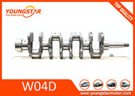 China Forging Crank for Hino W04C W04D Engine Crankshaft 13411-1592 for HINO  6 holes and 8 holes both available company