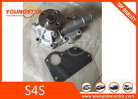 China Aluminium Auto Engine Components Water Pump / MITSUBISHI S4S Forklift Engine Parts factory