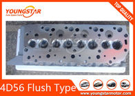China 4D56 Flush Type Complete Cylinder Head For Mitsubishi 4D56 Valve Sits factory