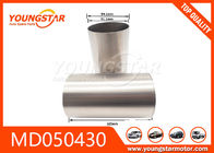 China MD050430 Cylinder Liner Automobile Engine Parts For Mitsubishi 4D55 4D55T 4D56T factory