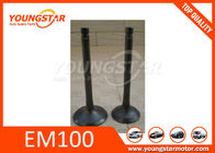 China 13711-1410 13711-1500  Car Engine Valves For Hino Truck EM100 factory