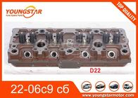 China Casting Iron Engine Cylinder Head Assy For Russia Car Yamz CMD-22 22-06с9 c6 CMD 22  CMD 23 23-06C9 C6 factory