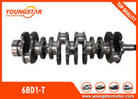 High Performance Crankshafts For ISUZU 6BD1-T DB58 / 6BD1 Engine 1123104370