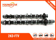 China TOYOTA  2KD - FTV Engine Camshaft 13501-30030 13501-0L010 ( IN )  / 13502-30020 13502-0L010  ( EX ) factory