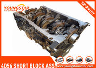 Good Quality Engine Cylinder Block & Mitsubishi Pajero L300 4D56 2.5TD Engine Short Block ASSY With PISTON  21102-42K00A on sale