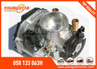 China AUDI A4 Throttle Body 058 133 063H / 408 237 212 002Z With ISO 9001 factory