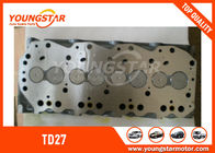 China NISSAN TD27 Terrano Complete Cylinder Head With Injector Diameter - 20MM company