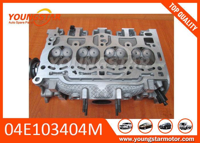 1.4 TSI Aluminium Cylinder Head / Car Engine Parts For VOLKSWAGEN ...