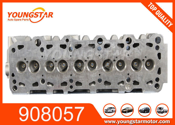 Aluminium Diesel 4 Cylinder Head / VW Transporter Car Engine Parts 2.4D Displacement