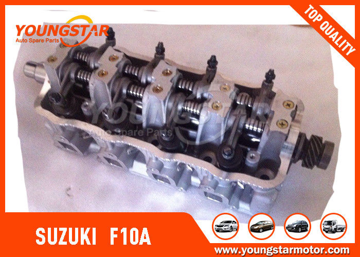 SUZUKI Carry F10A 11110 - 80002 Auto Cylinder Heads With 8V / 4CYL Engine Valve