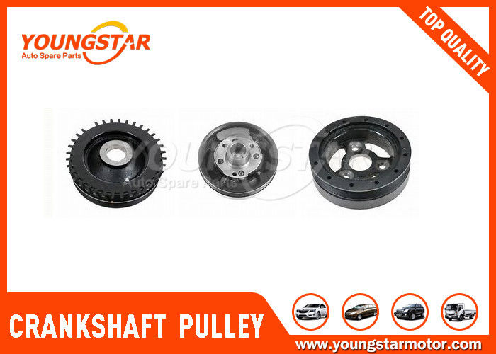 Single 4d56 Diesel Engine Crankshaft Pulley 23124 - 42001 For MITSUBISHI