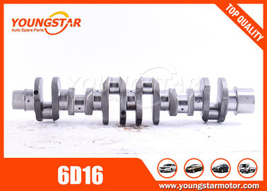 CRANKSHAFT  FOR MITSUBISHI  6D16  ME072197,23100-93072  main bearing Dia  :  80 mm   ;   con rod bearing dia 65mm