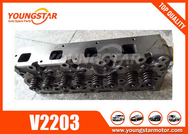 China Excavator Auto Cylinder Heads Assy For Kubota 01907-703040 V2203  V2203-M   1907-703048 factory