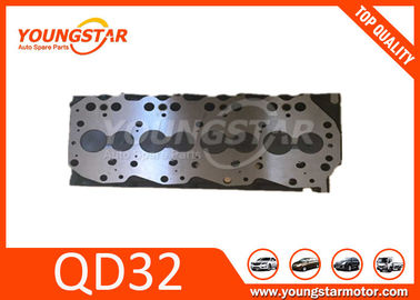 China Nissan / Forklifter Parts QD32 Assembly automotive cylinder heads Iron Material factory