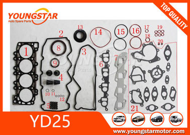 Full Cylinder Head Gasket Set for Nissan Navarra D40 Yd25 , 4WD Diesel turbo 10101-vk526 11044-vk500