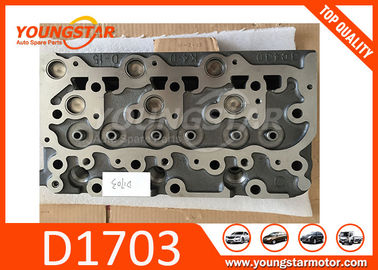 China Casting Iron Diesel Engine Car Cylinder Head For Kubota D1703B and D1703A factory