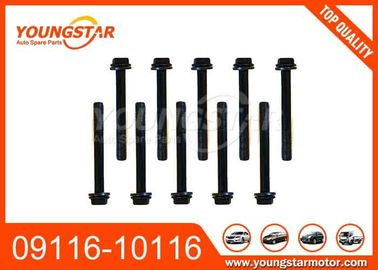 China Steel OEM 09116-10116 Cylinder Head Bolt Set For SUZUKI F10A Engine factory