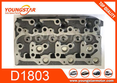 China 1G84103043 1G841-03043 Car Cylinder Head Casting Iron For Kubota D1803 D1803-M factory