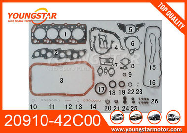 Steel Material 20910-42C00 Full Gasket Set For Hyundai D4BB High Performance