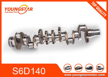 Casting Iron Engine Crankshaft Assy For Komatsu S6D140 6D140 6211-31-1010 6211311010