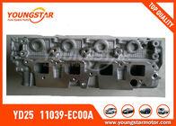 NISSAN Navara YD25 Cylinder Head 2.5DDTI DOHC 16V 2005 - 11039 - EC00A